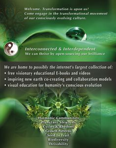 New Earth Co-creating website/organization/resources