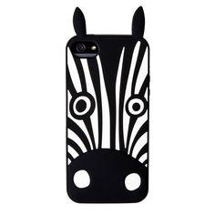 Ochranný kryt / pouzdro / Silikonový kryt Zebra pro iPhone 5/5s by Marc Jacobs  #AllCases.cz #kryt #case #sleva #iphone #iphone5 #iphone5s