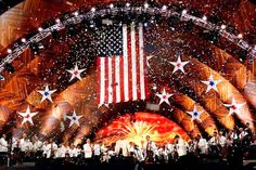 Boston Pops on July 4th in Boston!  What an experience!!  John Williams conducted.