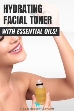 Nourish and hydrate the skin while encouraging cell turnover and repair! #EssentialOils #EssentialOilRecipes #HandmadeProducts #NaturalLiving Essential Oils For Skin, Therapeutic Grade Essential Oils, Essential Oil Uses, Relaxing Oils, Diy Makeup Remover, Hydrating Toner, Facial Toner, Homemade Beauty Products, Body Care