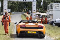 Lining Up for its next run - Lamborghini Gallardo Superleggera