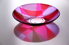 Fused glass bowl, Laura Hart                                                                                                                                                                                 More