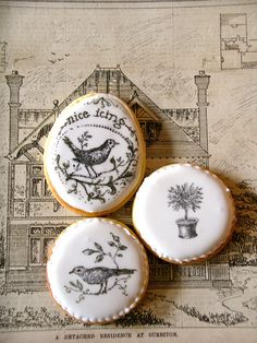 ★ Edible Cookie Stamps