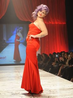 Kelly Osbourne at the Heart Truth Red Dress Fashion Show in New York City, NY. 2013
