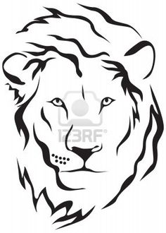Muzzle of a lion Vector Clipart Royalty Free. 51 Muzzle of a lion clip art vector EPS illustrations and images available to search from thousands of stock illustrators. Lion Tribal, Tribal Lion Tattoo, Arte Tribal, Tribal Art, Lion Drawing Simple, Simple Lion Tattoo, Animal Paintings, Animal Drawings, Lion Sketch