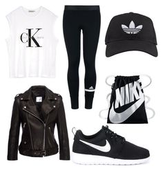 """work work work"" by kaye-viecelli on Polyvore featuring Calvin Klein, adidas and…"