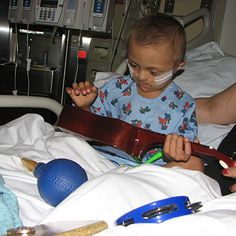 "Antonio enjoyed playing the ukulele alongside #SutterChildrensCenterSacramento music therapist Daniel during a long therapy session recently. Antonio also played the maracas and taught Daniel ""The Elmo Song"" so they could sing it together during Daniel's next visit."
