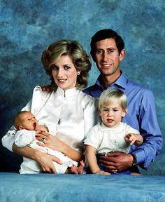 Diana, Charles, Will & Harry