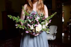 Wedding Bouquet, Flowers, Bride, Elopement, Roswell, Georgia   Gatherings by Caroline Quinn - Historic Roswell, Georgia