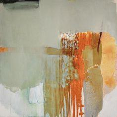 "Madeline Denaro - When the sea meets the sun, 2014 acrylic on canvas 36""x36"""