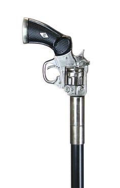 Pistol Handle Walking Stick - Diamond