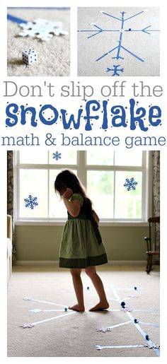 Winter Math Game Inspired by Frozen, Makes for a fun Frozen Party game too