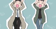 All the Supernatural Gifs — - SPNG Tags: Caramelldansen / Dean / Castiel /...