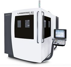 LASERTEC 80 FineCutting - Laser fine cutting of thin plates (0.2 in. width), tubes and 3D workpieces     Laser cutting gap min. 0.0008 in., Linear drives with an acceleration > 1g. High dimensional accuracy < 0.0004 in., Highly dynamic torque motors in both rotary axes (B- / C-axis) ,  Automatic distance control to compensate unevenness in the material, Automatic belt conveyor or robot handling, Laser sources: Nd:YAG (15 – 300 W), fiber (100 – 300 W), CO2 (1,000 – 3,000 W)