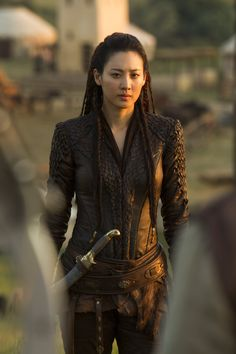 Claudia Kim as Warrior Princess Khutulun (Marco Polo)