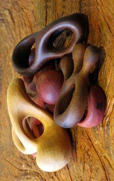 Seizo Soares, Brazil - Wooden rings