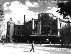 Tokyo Station. Fall 1945. Clifford McCarthy
