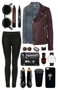 """Untitled #219"" by clary94 ❤ liked on Polyvore featuring Acne Studios, Polo Ralph Lauren, Topshop, IRO, Proenza Schouler, NYX, Deborah Lippmann, Daniel Wellington, The Giving Keys and Jean-Paul Gaultier"