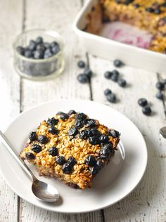 Reward Yourself With Burst of Nutrients – Apple & Blueberry Baked Oatmeal Recipe
