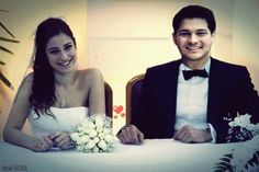 Azra ve Can nikah masasında Cutest Couple Ever, Brunette Beauty, Turkish Actors, Most Favorite, Happily Ever After, Female Characters, Cute Couples, Bella, Eye Candy