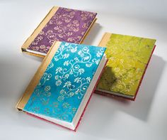 Namaste is launching a large range of hand-made products and stationery. These beautiful craft made papers are made by a long established family-based business in Northern India. The range includes notebooks, paper gift boxes, gift bags, hand-made gift wrap and greetings cards. The paper is made from cotton waste, generally off cuts from the Indian garment industry. No wood is used in the production process and the local environment is respected. www.namaste-uk.com