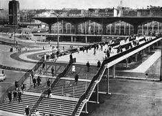 Katowice - Dworzec. Kiedyś było tyyyle przestrzeni :-)