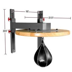 XMark Hi-Impact Adjustable Speed Bag Platform Home Gym Set, Home Made Gym, Gym Room At Home, Workout Room Home, Workout Rooms, Commercial Fitness Equipment, No Equipment Workout, Home Gym Equipment, Abs On Fire Workout