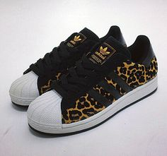 Adidas Superstar Animal Print