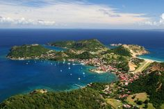 Guadeloupe, Baie des Saintes à Terre-de-Haut ~ fait 10.2004 ♥