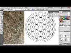 ▶ How to Draw the Flower of Life digitally with Adobe Illustrator the easiest way! - YouTube