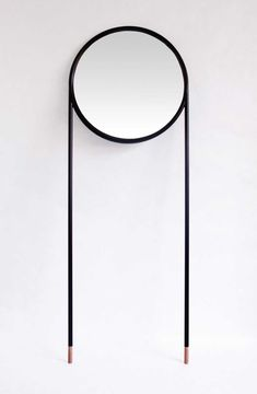 Mirrors by La Mamba for Omelette-ed | http://www.yellowtrace.com.au/two-legged-furniture-and-lighting/