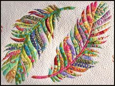 """My new bed runner pattern called, """"Dream Catcher"""" Now to hit my batik scrap bag. Cute Quilts, Small Quilts, Mini Quilts, Baby Quilts, Colchas Quilt, Quilt Border, Embroidered Quilts, Applique Quilts, Applique Patterns"""