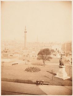 Thomas Annan - View of George Square, Glasgow, 1868 Glasgow Scotland, Post Office, Legends, The Past, History, Architecture, City, Places, Pictures