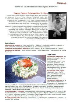 """La Ricetta di oggi 22 Febbraio dall'archivio di Ricette 3.0 di spaghettitaliani.com - Risotto alla cenere Salmerino di montagna e le sue uova ( Primi - Riso ) inserita da Eugenio Jacques Christiaan Boer - La ricetta si trova anche nel Libro """"Una Ricetta al Giorno... ...leva il medico di torno"""" prodotto dall'Associazione Spaghettitaliani, per acquistarlo: http://www.spaghettitaliani.com/Ricette2013/PrenotaLibro.php"""