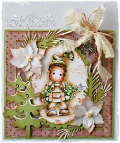 Christmas is Coming at Lovely Hänglar Sweet Magnolia AND Papercrafts