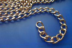 catena dorata per borse 1mt, by Mila Bijoux, 5,50 € su misshobby.com