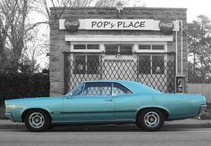 1966 PONTIAC LEMANS OHC 6 SPRINT DOWN AT POP's