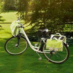 kostenlose Anleitung und Schnittmuster für ein Fahrradtaschen - Set