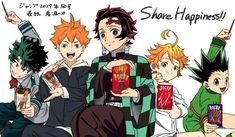 App Anime, Otaku Anime, Manga Anime, Funny Instagram Memes, Haikyuu Yaoi, Cartoon Crossovers, My Hero Academia Episodes, Anime Crossover, Boku No Hero Academy