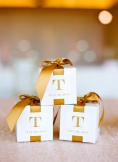 We did these with a blue ribbon filled with blue and hot pink m&ms for favors at the shower!