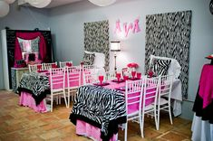 "Every little girl loves slumber parties.  For Ava's eighth birthday, she and 12 of her friends were treated to a ""Pajama Jam Spa"" daytime slumber party.  Guests arrived at Posh Tot Events in Roswell decked out in pajamas to custom tables made to look like beds with headboards crafted out of corduroy zebra print fabrics, …"