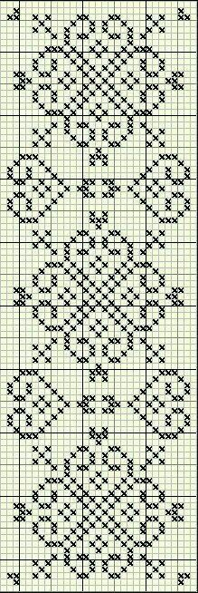 Discover thousands of images about Cross stitch trefoil style border pattern Cross Stitch Bookmarks, Cross Stitch Borders, Cross Stitch Charts, Cross Stitch Designs, Cross Stitching, Cross Stitch Embroidery, Cross Stitch Patterns, Filet Crochet, Crochet Chart