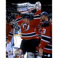 2df7af78f7b Martin Brodeur New Jersey Devils 2000 Stanley Cup Champions Autographed  16'' x 20'
