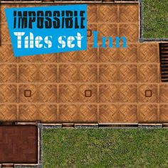 Impossible Tiles Set: Inn | Tile-able easy set of indoor buildings. Different floors, for every situation. Remember rotate, reflect, assemble all pieces with your imagination.  https://marketplace.roll20.net/browse/set/839/impossible-tiles-set-inn