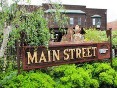Main Street Sign, Old Town Temecula, California