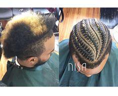 Dope cornrows via @nisaraye - http://community.blackhairinformation.com/hairstyle-gallery/braids-twists/dope-cornrows-via-nisaraye/