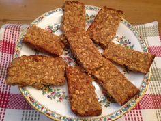 Isa's Peanut Butter Granola Bars From Forks Over Knives Cookbook - Vegan American Princess