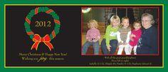 Winter Wreath Holiday Card