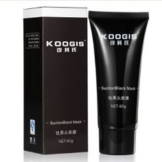 2015 KOOGIS Brand Blackhead Mask Makeup Deep Cleaner Face Nose Black Head Remover Peeling Peel Facial Acne Masks Cosmetics