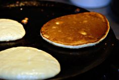 This is the pancake recipe we always use. It is the best pancake recipe for paleo I have found. My husband even eats them and he doesnt enjoy pancakes. They kinda taste like crispy creme donuts. YUP and I hate donuts lol.